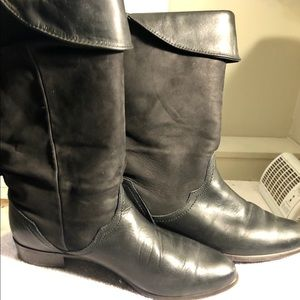 Santana suede leather boots